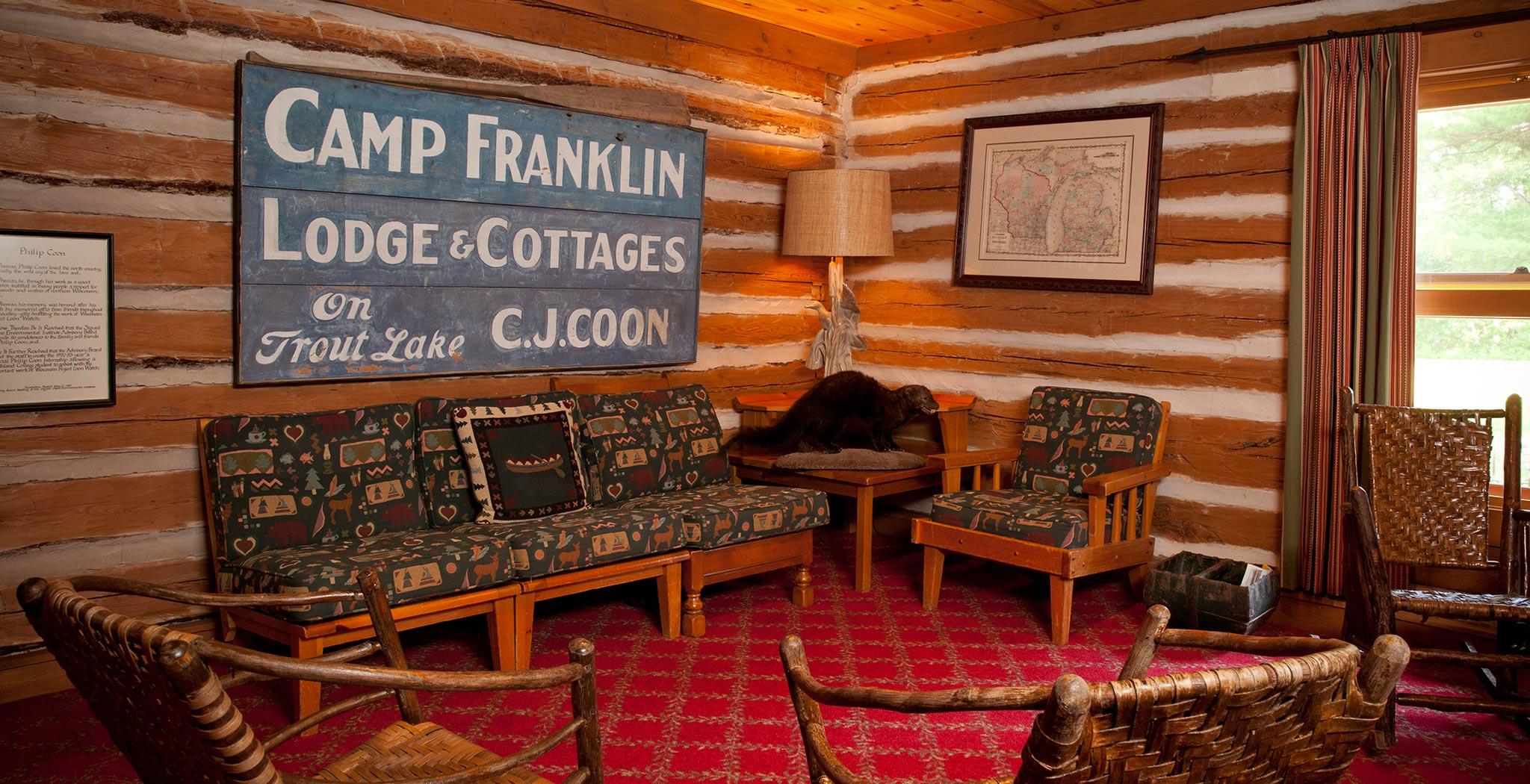 Boulder Junction Accommodations   Coonu0027s Franklin Lodge